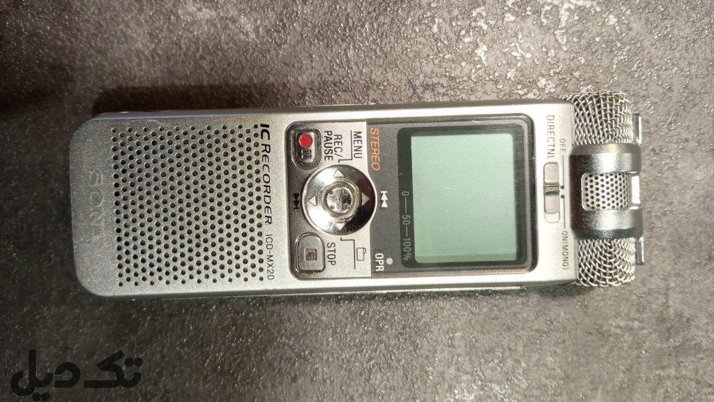 دستگاه ضبط صدا خبرنگاری