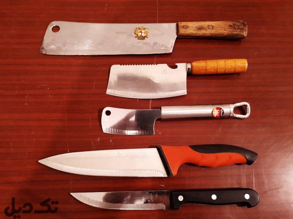 مجموعه چاقو و ساتور