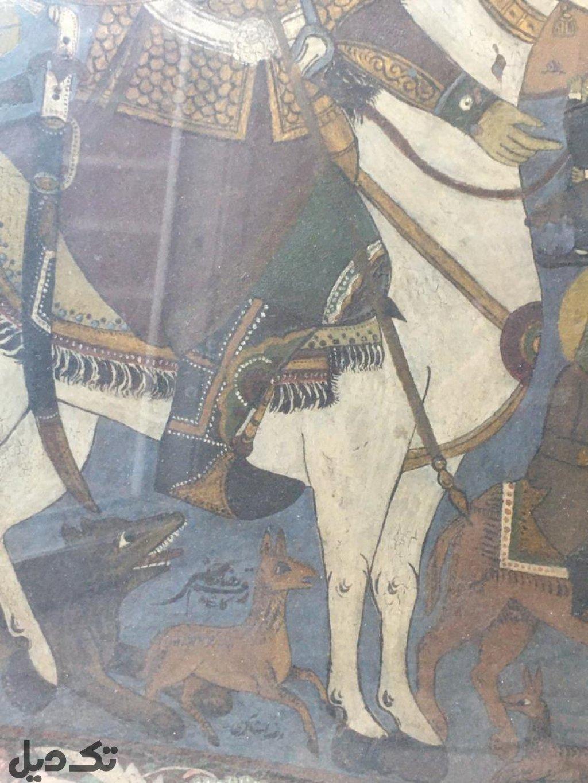 تابلو قهوه خانه ای قاجار