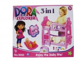 اسبازی تخت کودک در فروشگاه اینترنتی