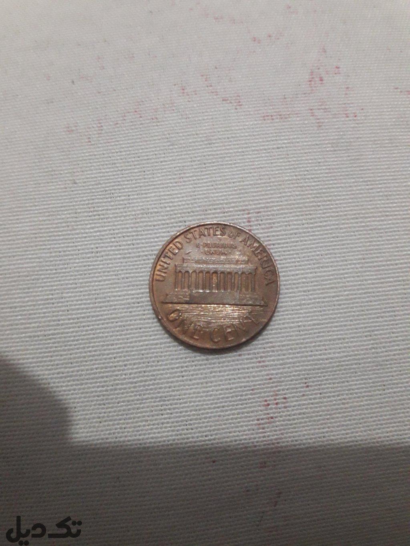 سکه یک سنت امریکا۱۹۶۸