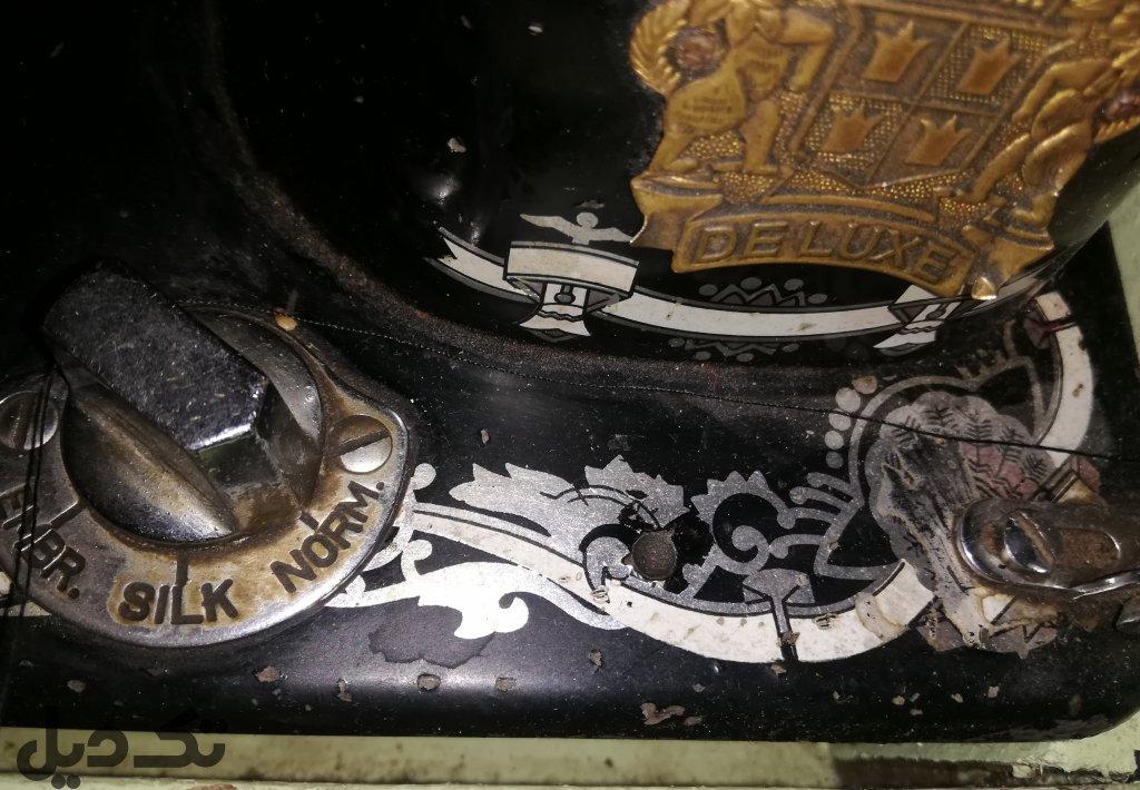 مزایده چرخ خیاطی قدیمی