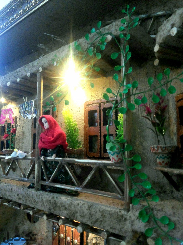 تابلو برجسته سنتی خانه