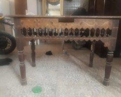 میز سنتی با قدمت ۱۰۰سال در حراجی و فروشگاه اینترنتی